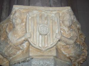 Cattedrale stemma aragonese