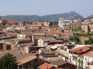 Panorama con tetti e campanili
