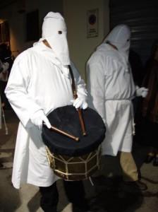 Tamburo d'apertura delle processioni della Settima
