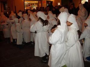 Baballotti in fila